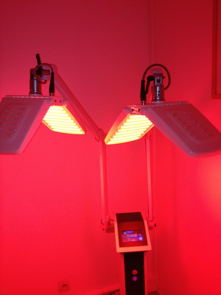 LED - traitement esthétique par photothérapie - réjuvénation
