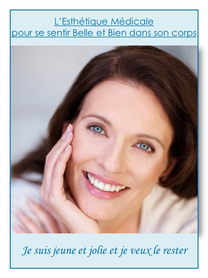 affiche soins esthétiques femme
